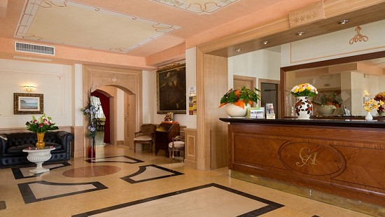 The Grande Albergo Ground Floor Hall
